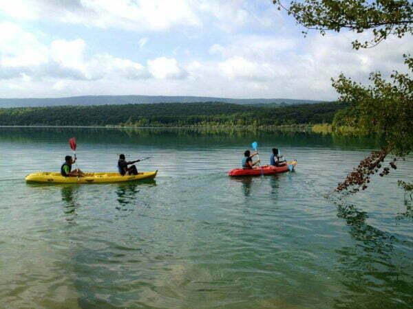 Kayak montbel - Séjour Multisports 9-13 ans