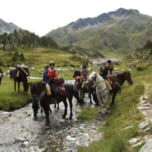 Randonnée à cheval - adultes - Pyrénées
