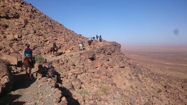 Maroc à cheval
